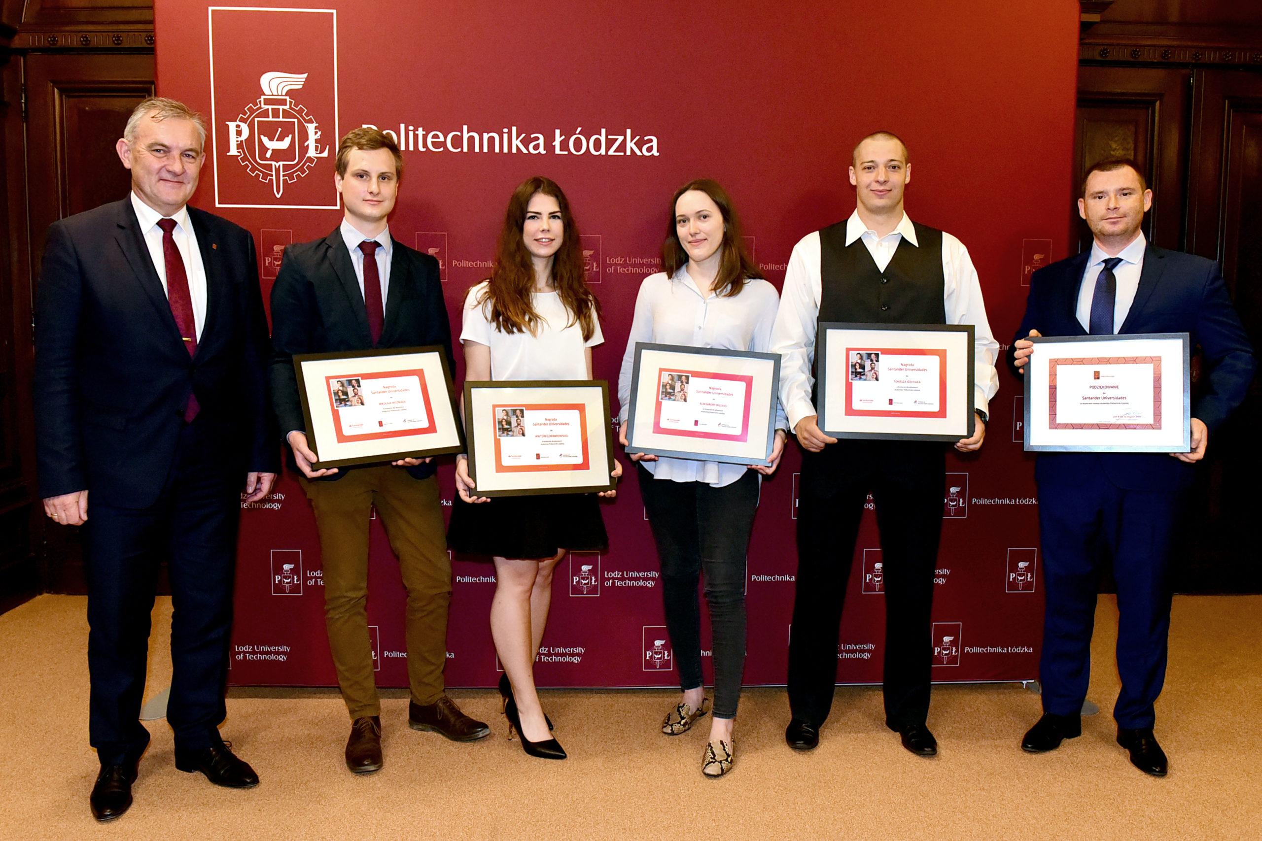 Wręczenie Nagród Santander Universidades